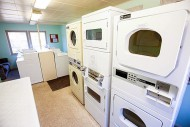 Chapel laundry facilities