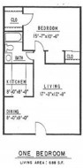 Ponderosa Pines floorplan 1