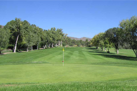 Los Alamos golf course